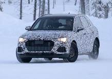 Audi Q3 2018, eccola nei primi test