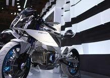 Yamaha, lo stand al Salone di Tokyo