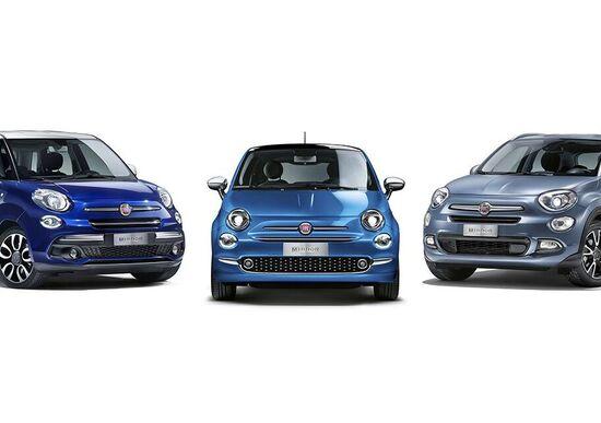 Fiat 500, debutta la famiglia Mirror