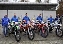 Campionato Europeo Enduro: la Maglia Azzurra sul podio