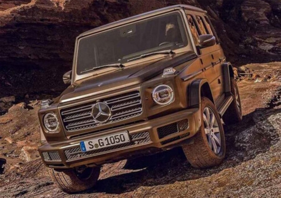 Mercedes Classe G 2019, ecco com'è fatta