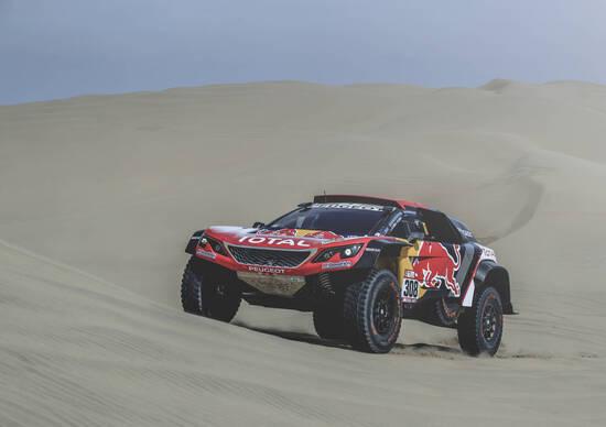 Dakar 2018. Live day 2: Despres (Peugeot) vince tra le auto. A Barreda (Honda) la categoria moto