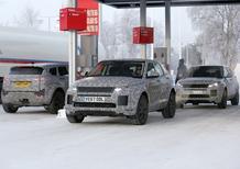 Range Rover Evoque, Aggiornamento gamma: i muletti in test