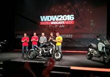 Ducati ad EICMA 2015: World Première