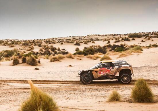 """Dakar '18. L'incubo di Belen. Stravince """"Peter"""" (Peugeot), caos moto, Van Baveren ritirato e Walkner"""