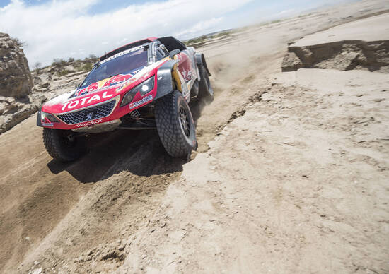 Dakar 2018 Peugeot. Peterhansel-Peugeot Uragano in Vetta. P2 riconquistata.
