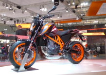 EICMA 2015: il video della KTM 690 Duke R