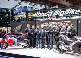 Lo stand Honda al Thailand International Motor Expo
