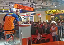 EICMA 2015. Antoine Meo (KTM): Dakar, arrivo!