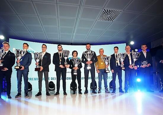 Premiazione Campioni ACI 2017, Monza