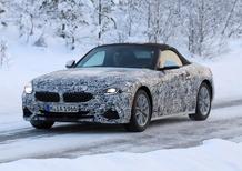 BMW Z4, le foto spia