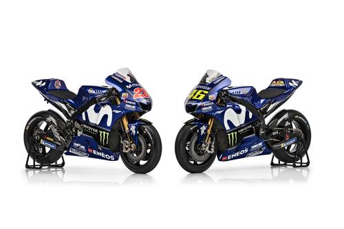 MotoGP Gallery – La Yamaha M1 2018, Rossi e Viñales (3)