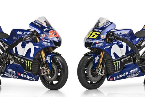 MotoGP Gallery – La Yamaha M1 2018, Rossi e Viñales (5)