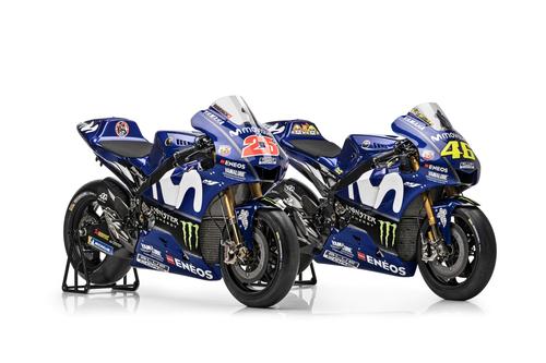 MotoGP Gallery – La Yamaha M1 2018, Rossi e Viñales (6)