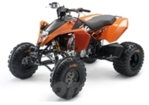 Nuovi ATV KTM XC 450 e XC 525