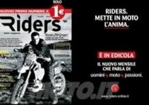 Nuovo mensile Riders. La moto come stile di vita