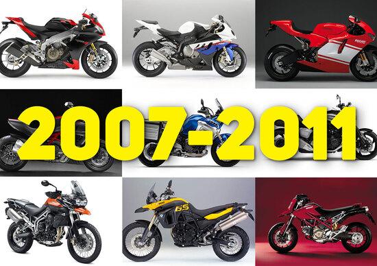 Qual è stata la moto Top del periodo 2007-2011? Aprilia RSV4!