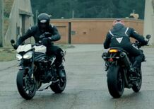Nuova Triumph Speed Triple RS. Fogarty vs Johnson (Video)