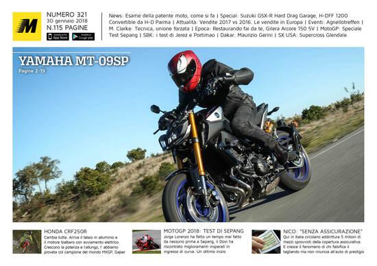 Magazine n° 321, scarica e leggi il meglio di Moto.it