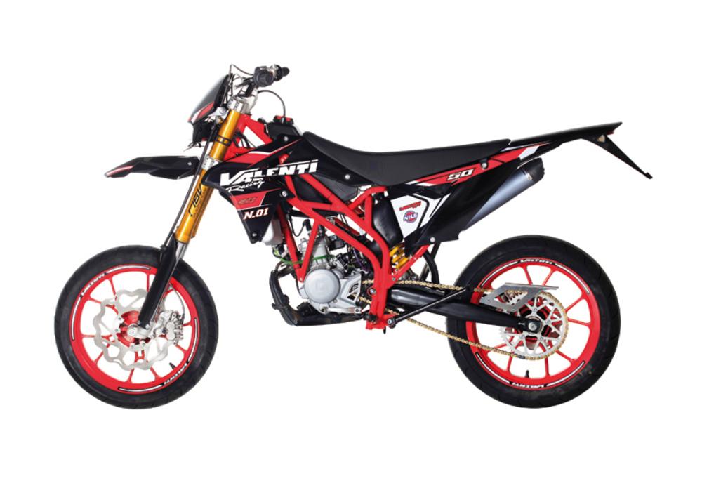 Valenti Racing N01 50 Naked (2015 - 17), prezzo e scheda