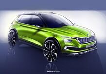 Skoda Vision X, il futuro SUV compatto al Salone di Ginevra 2018