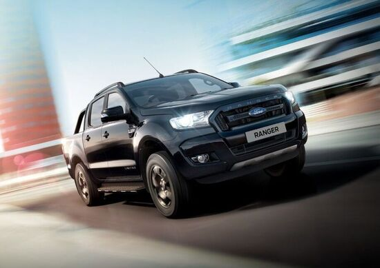 Ford Ranger Black Edition, nero totale