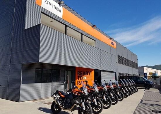 Novità in KTM e Husqvarna Italia
