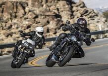 Le nuove Triumph Speed Triple S ed RS 2018