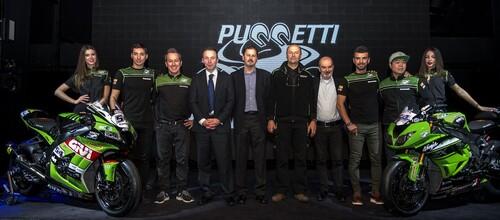 SBK. Presentato il team Kawasaki Puccetti Racing 2018