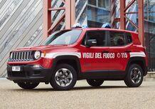 Jeep Renegade, arruolata nei Vigili del Fuoco