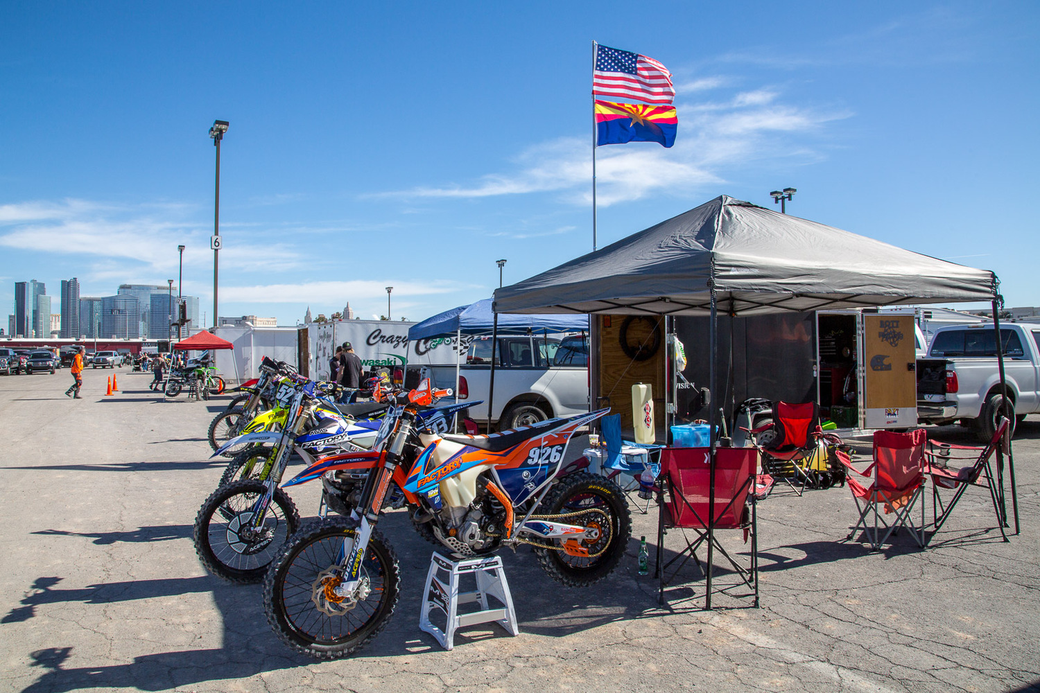Ride in the USA. World Off Road Championship Series