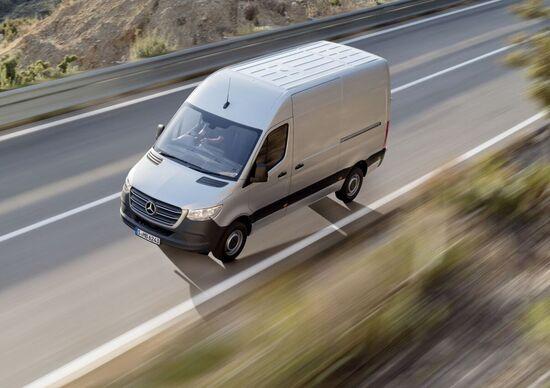 Mercedes Sprinter, è l'ora della terza generazione