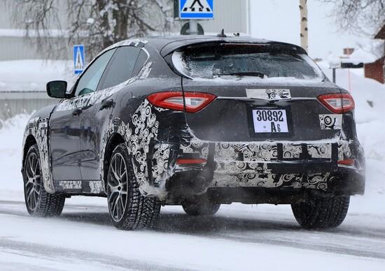 Maserati Levante GTS: le foto del nuovo modello in arrivo