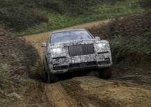 Rolls-Royce: è ufficiale, il SUV si chiama Cullinan