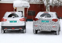 Suzuki nuova Vitara 2019: scatti dai test