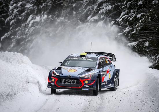 WRC18 Svezia. Tripletta Hyundai. Il Neuville che tutti si aspettano