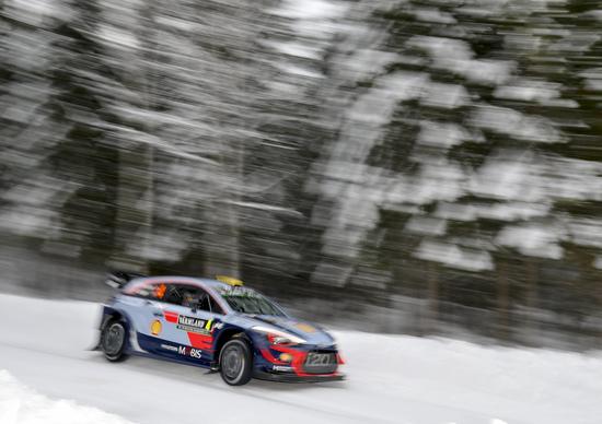WRC18 Svezia. Neuville (Hyundai) Edizione Straordinaria . Svezia Bello… ma Brutto