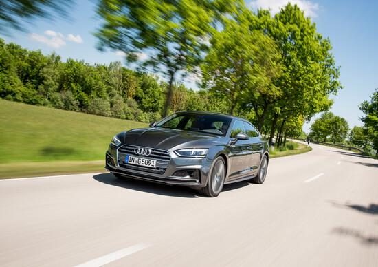 Audi a5 g tron 8 euro di risparmio per 100 km con il metano