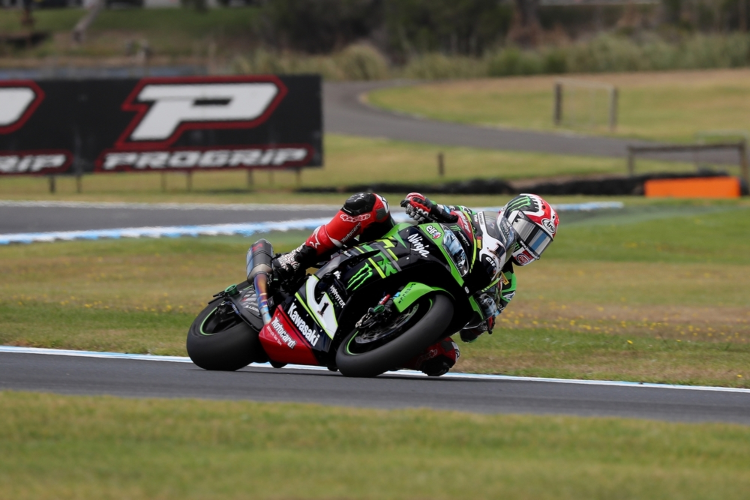 SBK Test a Phillip Island. Day 2