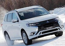 Outlander PHEV, la novità Mitsubishi al Salone di Ginevra 2018