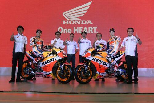 MotoGP. HRC svela le nuove livree 2018