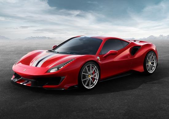 Ecco la nuova Ferrari 488 pista. E domani tocca alla Formula 1