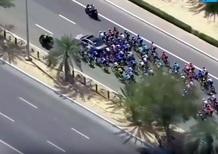 Abu Dhabi Tour 2018: Cavendish tradito dalla... frenata d'emergenza [Video]