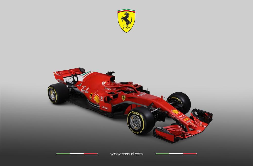Formula 1 2018 Ferrari Ecco La Sf71h Video Formula 1