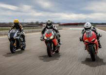 1000 Supersportive 2018: Aprilia RSV4RF vs Ducati Panigale V4S vs Yamaha YZF-R1M