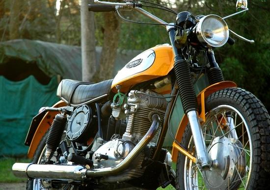 Restaurando fai da te: Ducati Scrambler 250 1972