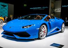 Lamborghini al Salone di Francoforte 2015