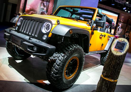 Jeep al Salone di Francoforte 2015