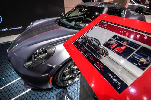 Alfa Romeo 4C, al Salone di Ginevra 2018 le Competizione e Italia (3)