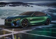 BMW M8 Gran Coupé Concept al Salone di Ginevra 2018 [Video]